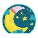 Lampa de veghe MyBabyLight Moon Reer, 2 x AA, Multicolor
