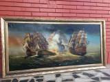 Tablou marin ,ulei pe panza -1.65/85 cm, Marine, Altul