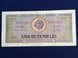 Bancnote România - 100000 lei 1947 - seria F.0201 0854 (starea care se vede)