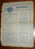 Reclama Depozit ELECTROZA Bucspan, Turner & co. - Strada Smardan 35 Bucuresti