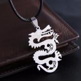 Pandantiv  / Lantisor dragon cu snur
