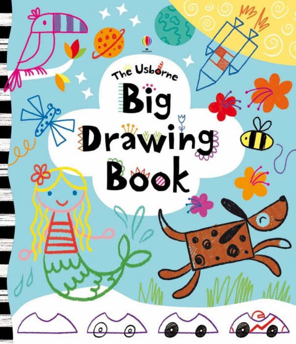 Big drawing book - Carte Usborne (3+)