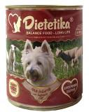 Hrana umeda pentru caini, Dietetika Miel, 800 gr