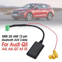 Adaptor bluetooth auxiliar wireless MMI 3G Ami Audi A4, A6, Q5, Q7