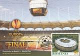 Romania 2012-maxicard-Finala Europa League-Atletico de Madrid-Athletic Bilbao, Romania de la 1950, Sport