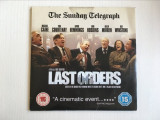 *DD Film Last Orders (Ultima dorinta) 2001, DVD, un film de Fred Schepisi, Engleza