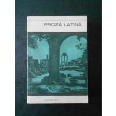 PROZA LATINE (1967)
