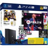 Cumpara ieftin Consola joc PlayStation® PS 4 Pro 1 TB, negru + Joc FIFA 21 + 2 controller DualShock 4, Sony