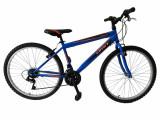 "Bicicleta MTB Umit Colorado Man, Culoare Albastru/Portocaliu, Roata 26"" OtelPB Cod:26010000003"