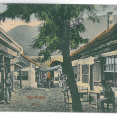 129 - ADA-KALEH, bazar, Romania - old postcard - used - 1909