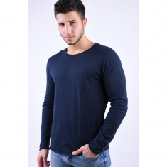 Pulover Selected Dome Crew Neck Navy Blazer