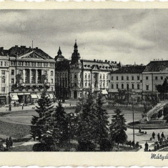 Carte postala maghiara Cluj
