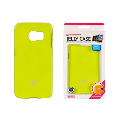 Husa Mercury Jelly Samsung G928 Galaxy S6 Edge+ Lime Blister