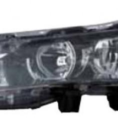 Far Toyota Corolla (E16) 07.2013-, Stanga, tip bec H11+Hb3, reglare electrica, cu motoras, ECE, cu lumni de zi tip LED, TYC, 8117002E71 8117002E70