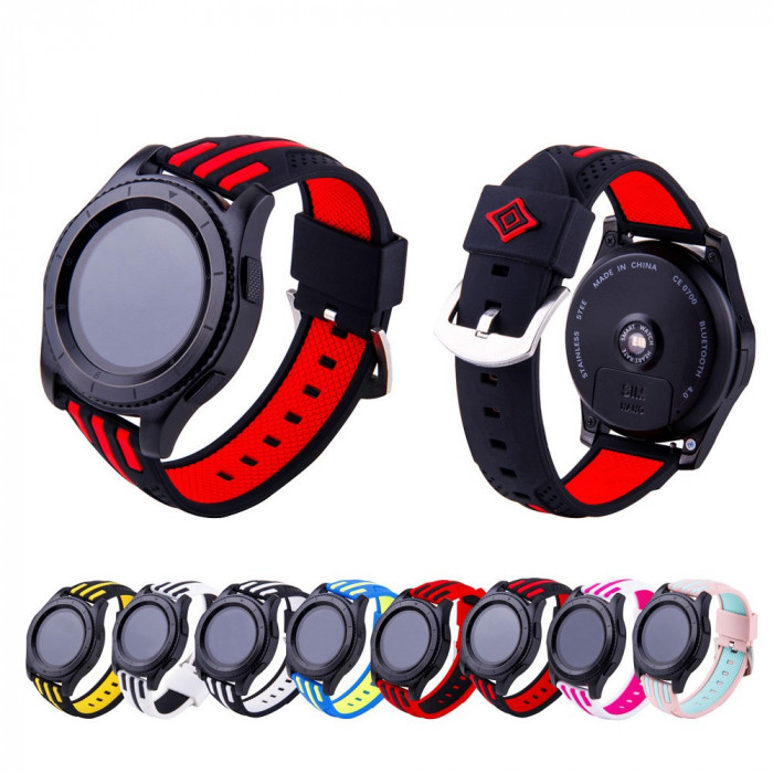 Curea silicon 22mm pt smartwatch Samsung Galaxy Watch 46mm, Gear S3 Frontier