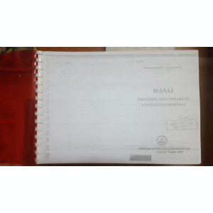 M.-I. Ene și L. Sava, Masaj, Refacere. recuperare în activitatea sportivă, 2004