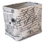 Cos textil MARATA dreptunghiular pentru depozitare, 0188127, 36x26xH31cm
