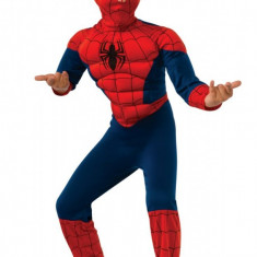 Costum Deluxe Spiderman Ultimate cu muschi Marvel M 5 7 ani