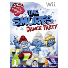 The Smurfs Dance Party Nintendo Wii, Ubisoft