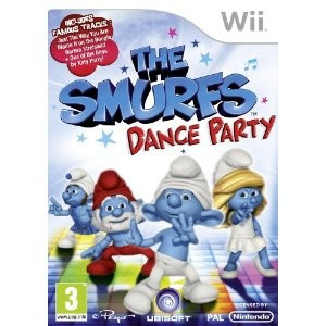 The Smurfs Dance Party Nintendo Wii foto