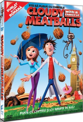 Sta sa ploua cu chiftele / Cloudy with a Chance of Meatballs - DVD Mania Film foto