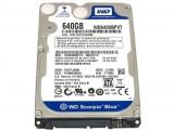 Hard Laptop 2.5 Western Digital Scorpio Blue WD6400BPVT 640GB 5400 RPM 8MB, 500-999 GB, SATA2