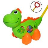 Jucarie de impins, cu forme, Dinozaur