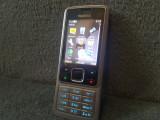 TELEFON NOKIA 6300 PERFECT FUNCTIONAL SI DECODAT,3G,MENIU IN ROMANA+INCARCATOR, Argintiu, Neblocat