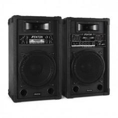 Skytec SPA1000 set de boxe activ PA 25 cm 800W USB-SD-MP3
