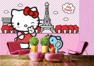 Fototapet - Hello Kitty 360x254cm