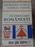 INTERIOARE ROMANESTI TESATURI SI CUSATURI DECORATIVE - GEORGETA STOICA, AURELIA