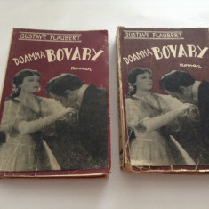 Gustave Flaubert - Doamna Bovary - 2 VOLUME *--INTERBELICA--RF10/4