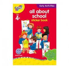 All about School - Carte Activitati cu Abtibilduri