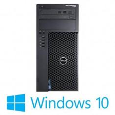 Workstation Refurbished Dell Precision T1700, i5-4590, Win 10 Home