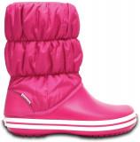 Cizme Femei de zăpadă Crocs Winter Puff Boots, 36.5, 37.5, Roz