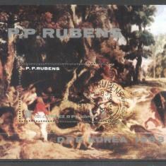 Korea 1983 Paintings, Rubens, perf. sheet, used T.279