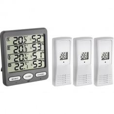 Termo-Higrometru cu 3 senzori wireless TFA 30.3054.10 Children SafetyCare