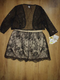 Set bolero + fustă Zara mărimea 42 (L)