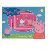 Tabla magnetica pentru desen Peppa Pig, 20 x 27 x 1.7 cm