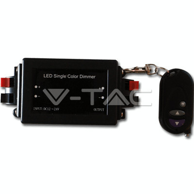 Dimmer pentru Bandă LED cu telecomandă V-Tac SKU 3300 foto