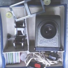 diafilm diapozitiv diafilm Diascol IOR  proiector aparat proiectie functional