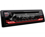 Player Auto JVC KDT812BT, 4 x 50W, Bluetooth, CD, Aux-In, USB (Negru)