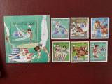 Ciad (tschad) - Timbre sport, jocurile olimpice 1984, nestampilate MNH, Nestampilat