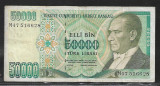 Turcia 50000 Lire 1970