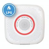 Cumpara ieftin Senzor detector de gaz petrolier lichefiat Shelly Gas LPG, Wireless, Alarma 70 dB, Notificari aplicatie