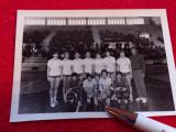 Foto-handbal Universitatea Timisoara inaintea meciului cu Roermond Olanda(`69)