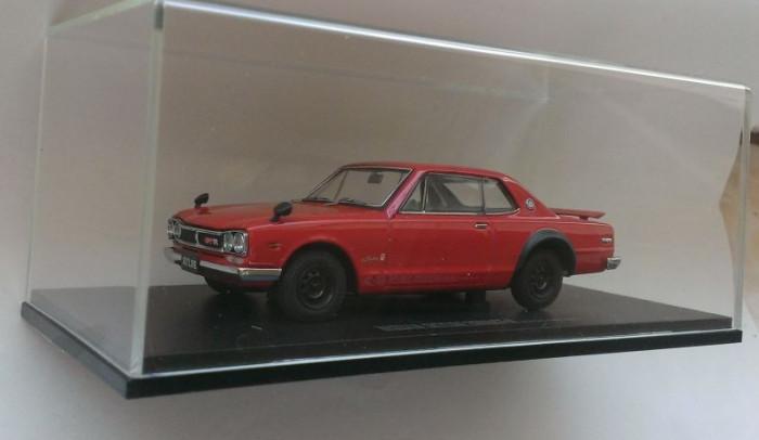 Macheta Nissan Skyline 2000 GT-R (KPGC-10) 1971 - Kyosho 1/43