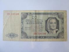 Polonia 20 Zlotych/Zlo?i 1948 foto