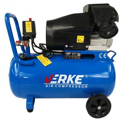 Compresor de aer industrial 50L 2.8kW 2cil. ZV2047/50LA VERKE V81105 foto
