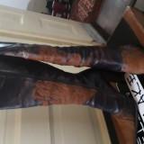 Vând cizme piele naturală maro, masura 36